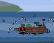 A pirate ship creator delfines j�t�kok